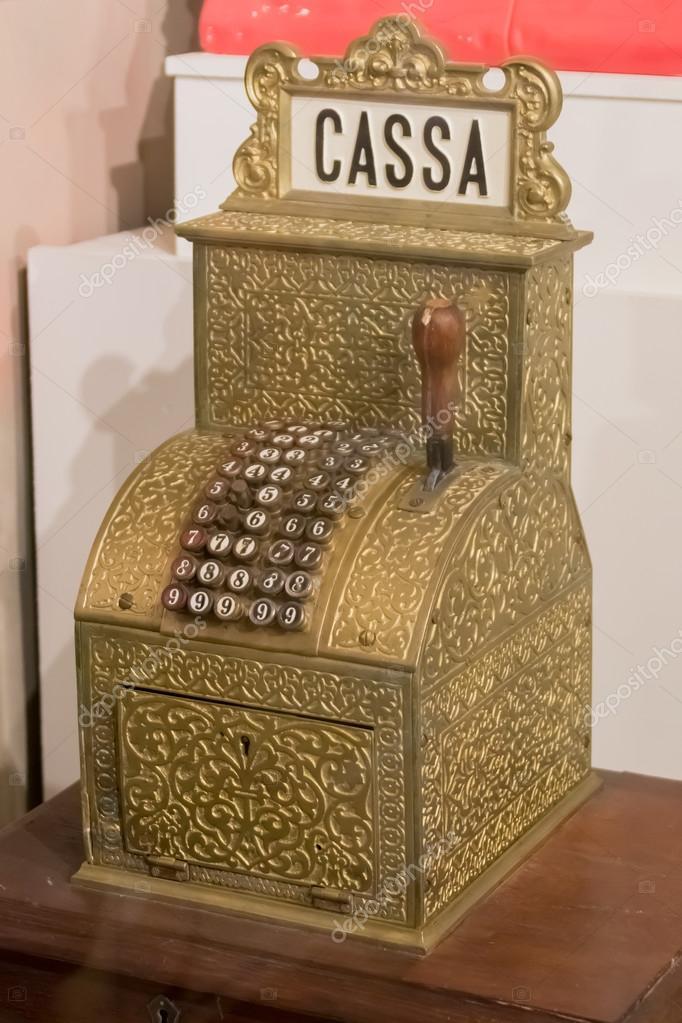 старинный кассовый аппарат стоковое фото Watman 106098462