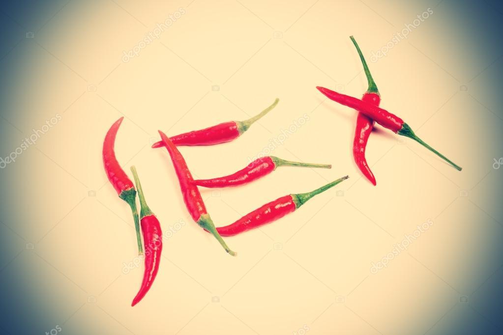 Чили перец и секс