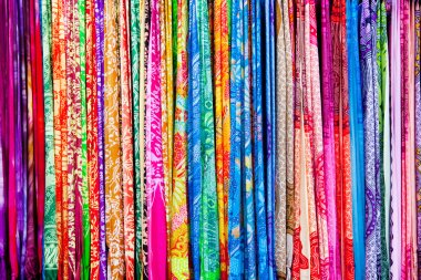 Range of sarongs
