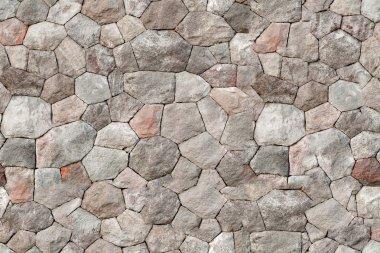 Stone pavement seamless texture