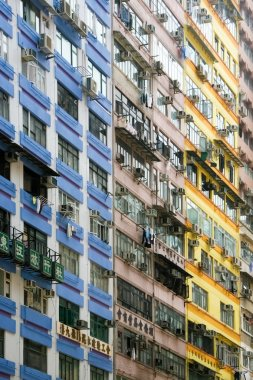 Residential building facade