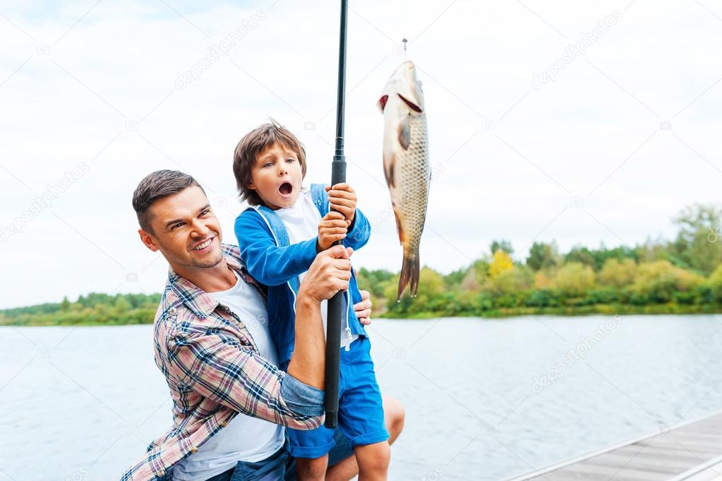 big fish father and son