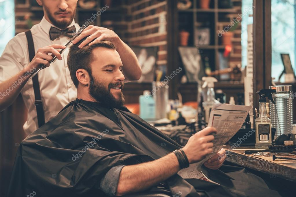 fashioned mens barber shop - HD7360×4912