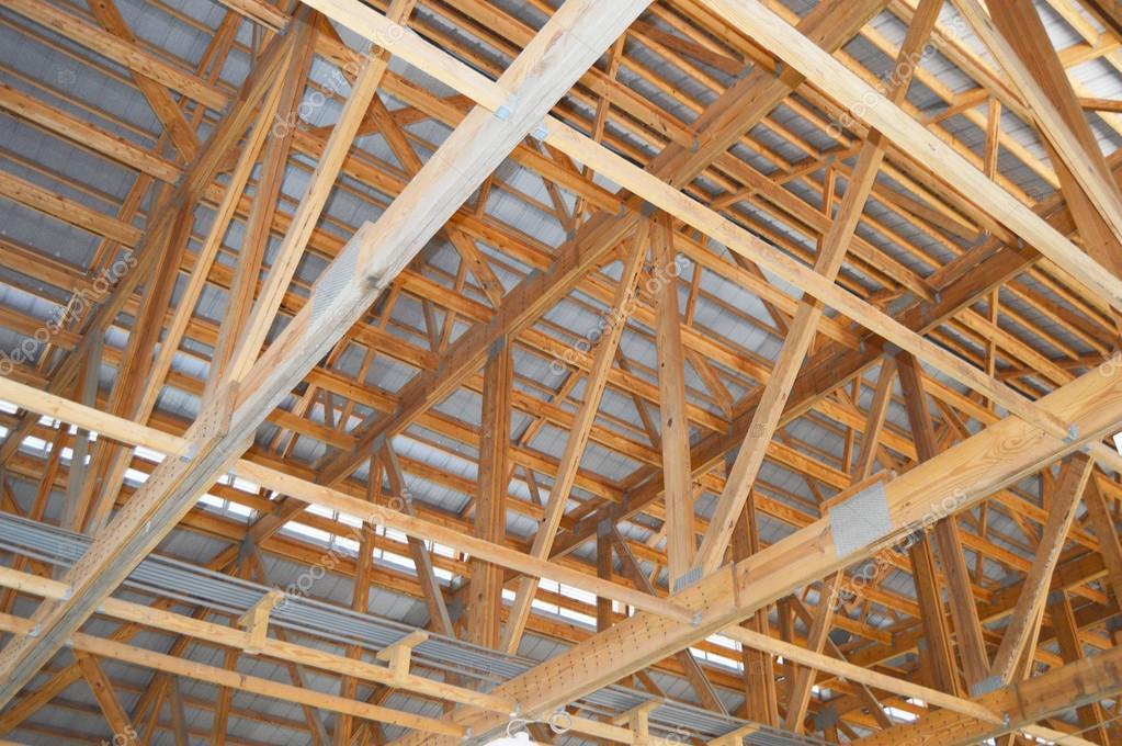 Interior del techo del granero — Fotos de Stock © 678studio #83082742