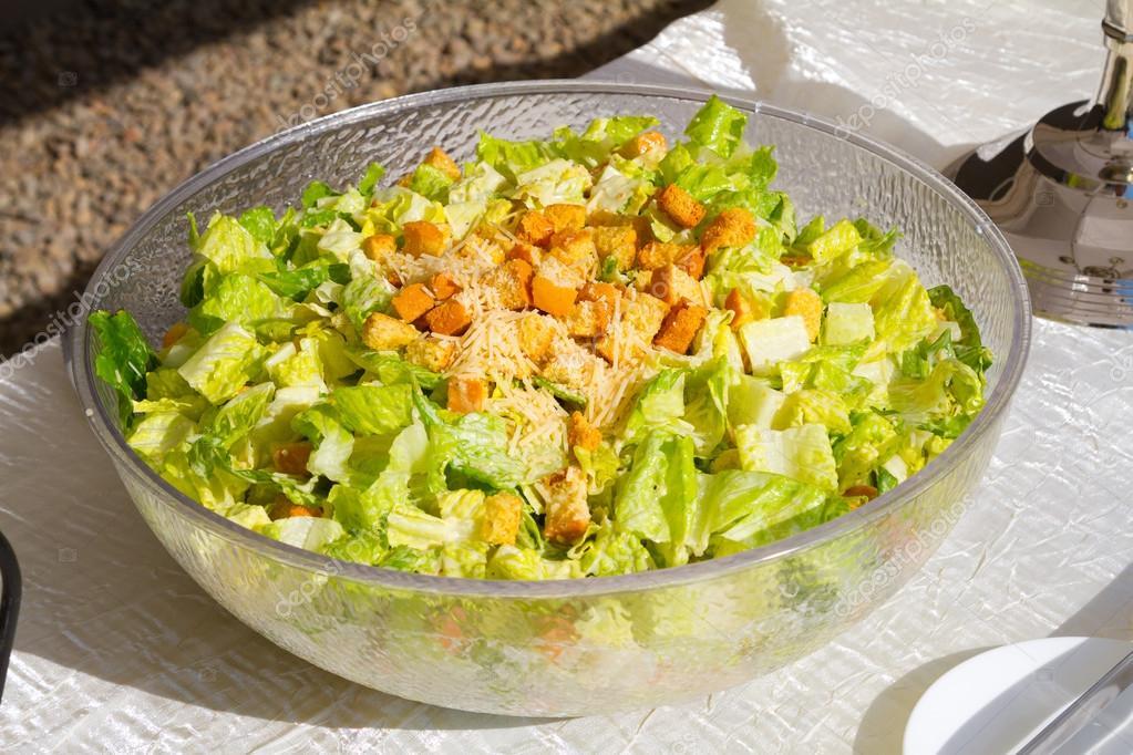 Buffet Salad at Wedding Reception — Stock Photo © joshuarainey #59329175