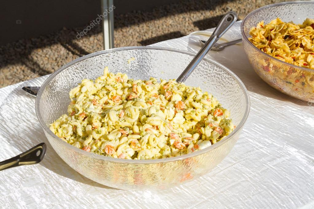 Pasta Salad Ready To Be Served Buffet Style At A Wedding Reception Photo By Joshuarainey
