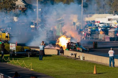 NHRA 30th Annual Fall Classic at the Woodburn Dragstrip