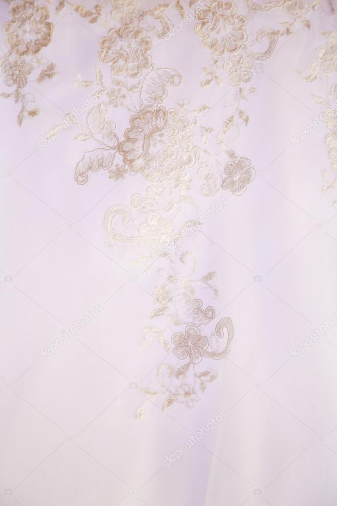 Hochzeit Kleid Hung im freien — Stockfoto © joshuarainey #87276402