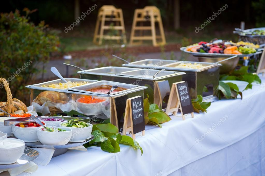 Wedding Reception Buffet Dinner Stock Photo Joshuarainey 90577464