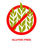 Photo Sticker Gluten Free. Vector illustration for your design.