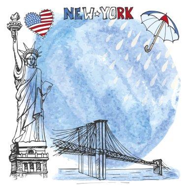 New York landmark.