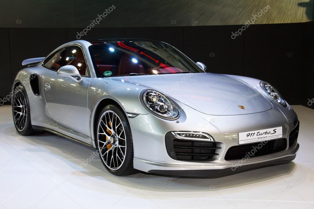 NONTHABURI, THAILAND - MARCH 25: The Porsche 911 turbo S is on d