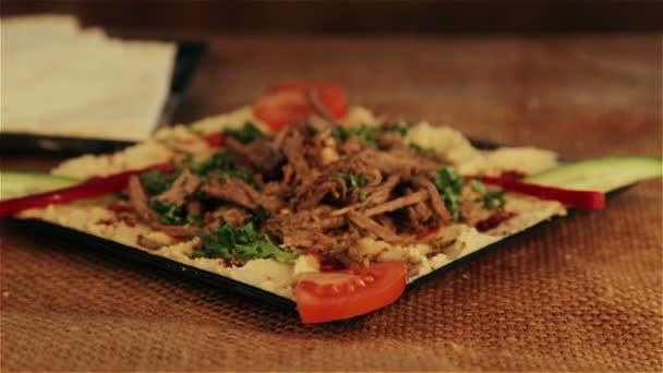 Tradycyjne Potrawy Hummus Bliskiego Wschodu Tradycyjne Potrawy