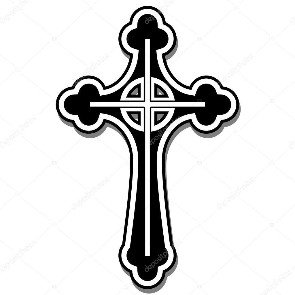 Christian cross stock vector andrijamarkovic 61644569 illustration of the christian cross as a symbol of faith vector by andrijamarkovic buycottarizona