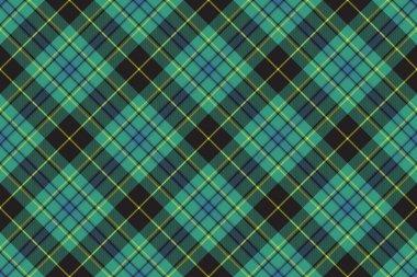 Ireland tartan kilt texture seamless diagonal pattern