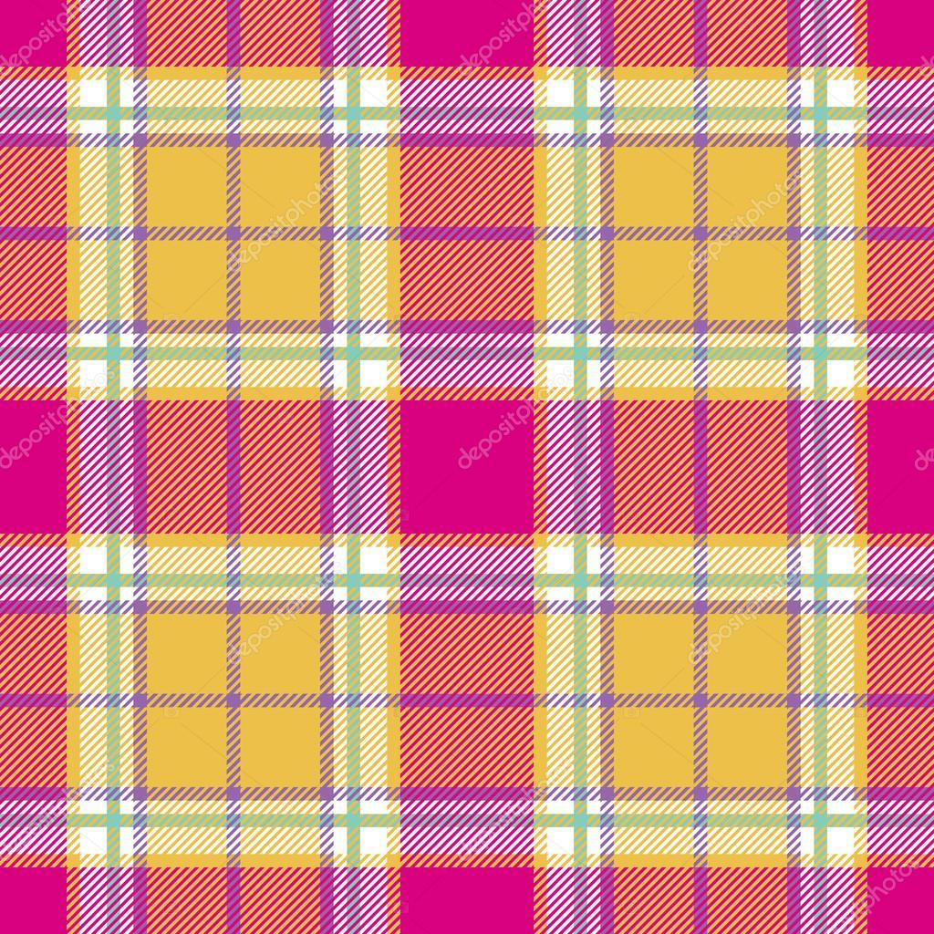 textura de tela de la tela escocesa de madras India de patrones sin ...