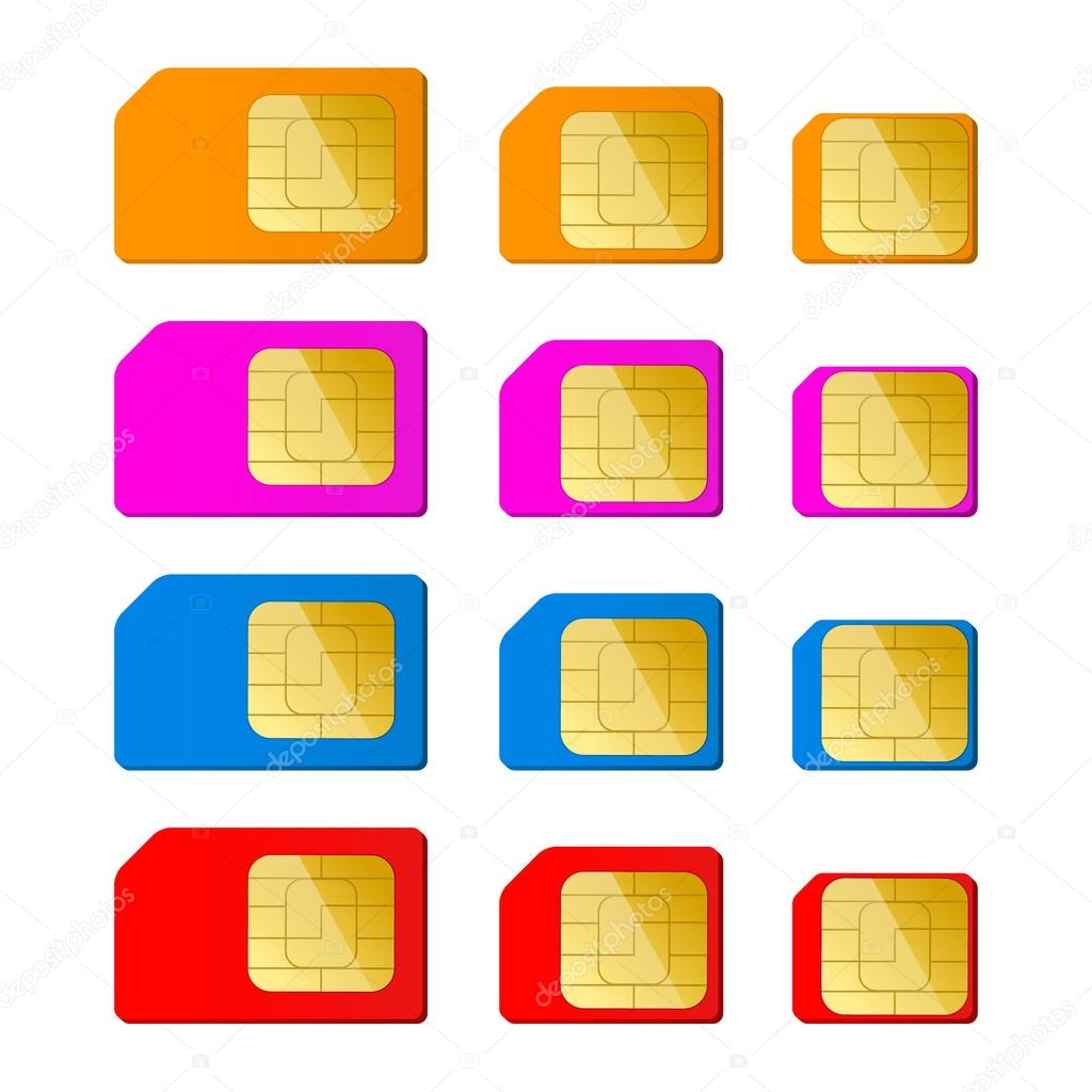 Carte Nano Sim Orange.Mini Micro Nano Sim Carte En Couleur Rouge Bleue Rose