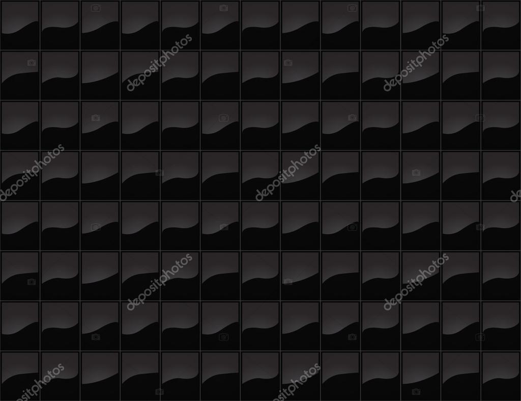 Struttura senza giunte mattonelle nere u vettoriali stock ankmsn