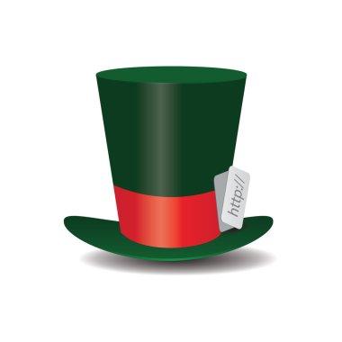 Internet green Hat Mad Hatter