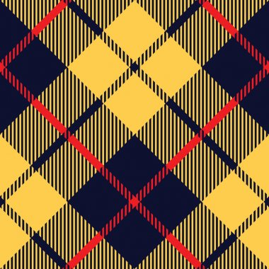 blue orange tartan fabric texture diagonal pattern seamless