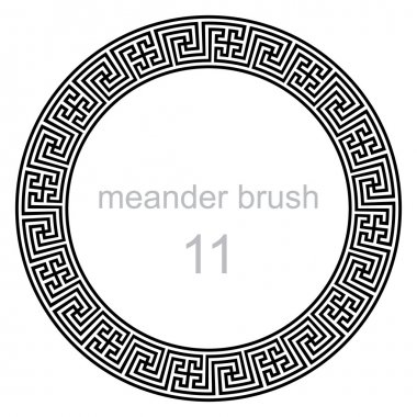 pattern line ancient meander