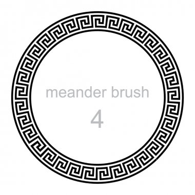 round ornament meander