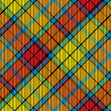 tartan buchanan seamless diagonal pattern