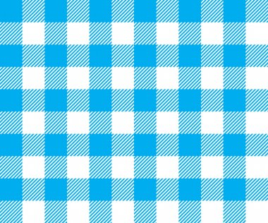 blue tablecloth background seamless pattern