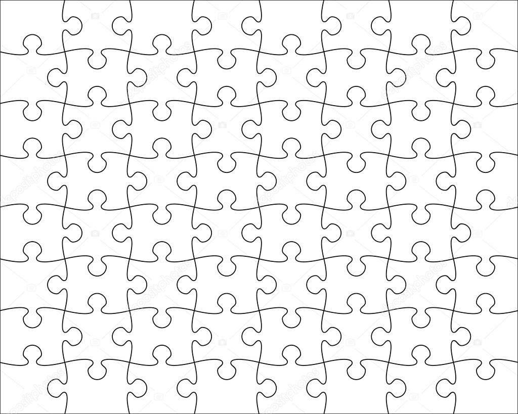 Puzzle Template To Create Your Own Puzzles 4