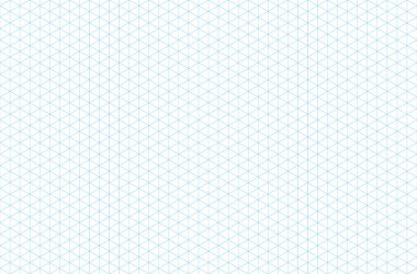 template isometric grid seamless pattern