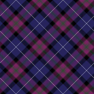 Pride of scotland tartan fabric diagonal texture seamless backgr