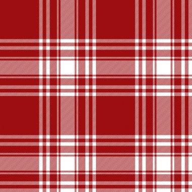 Menzies tartan red kilt skirt fabric texture seamless pattern