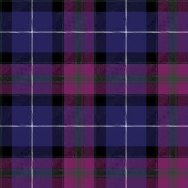 Pride of scotland tartan fabric texture pattern seamless