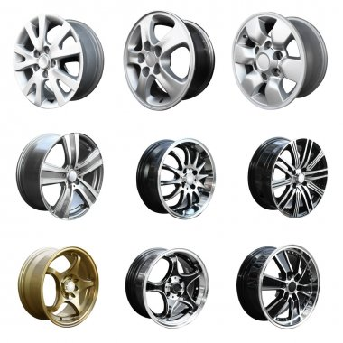 Collection Car Wheel disks