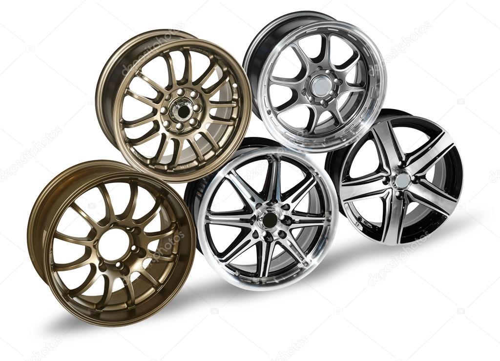 Wheel trims pyramid