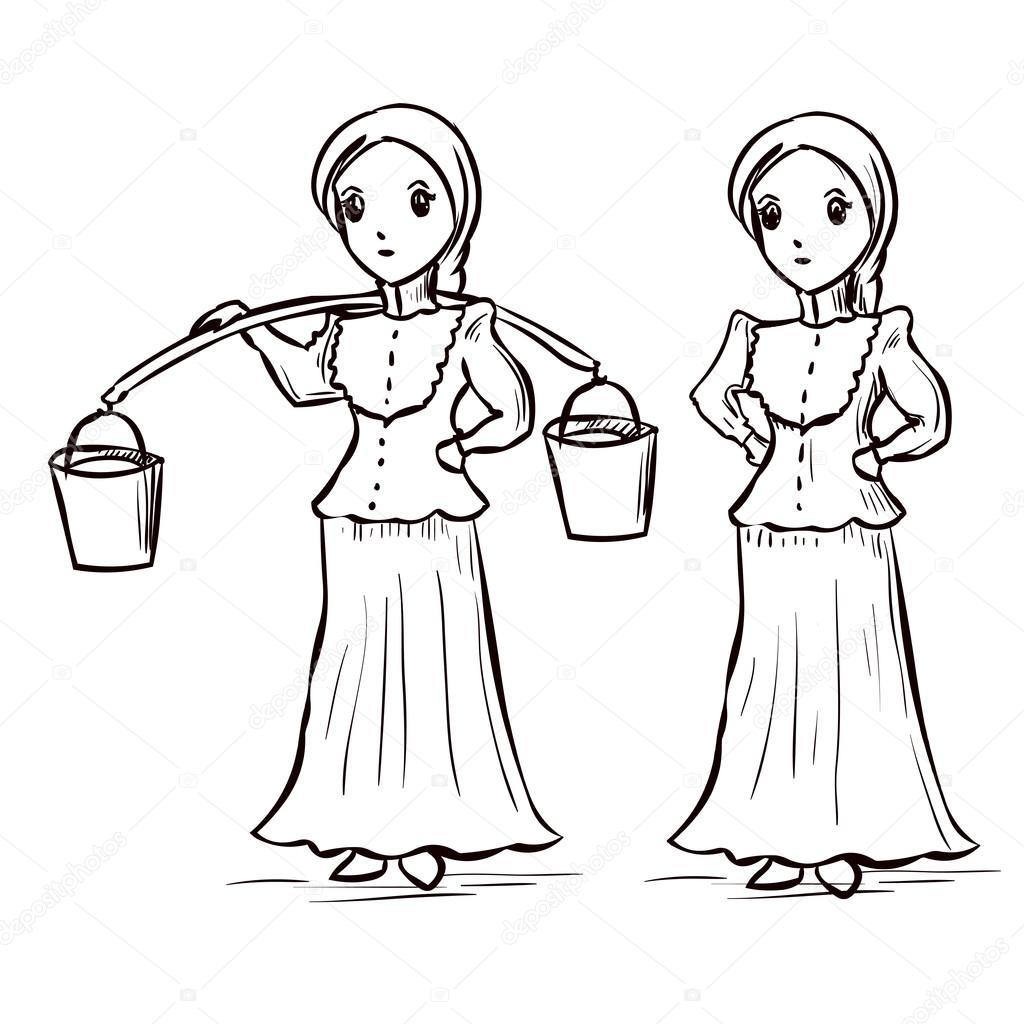 Русские девушки on line