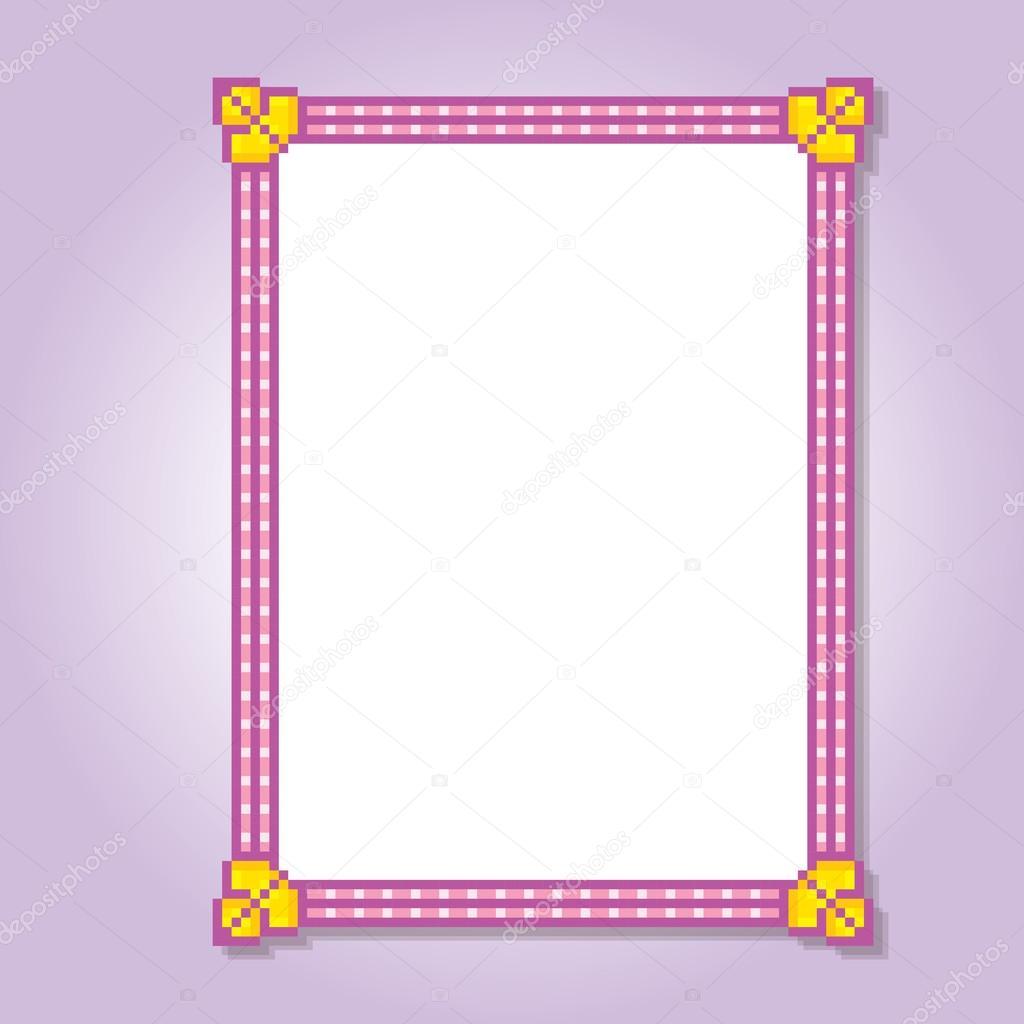 Trame De Pixel Mignon Image Vectorielle Dergriza 107834776