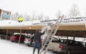 Fotografie Intelligente Schneeschaufeltechnik