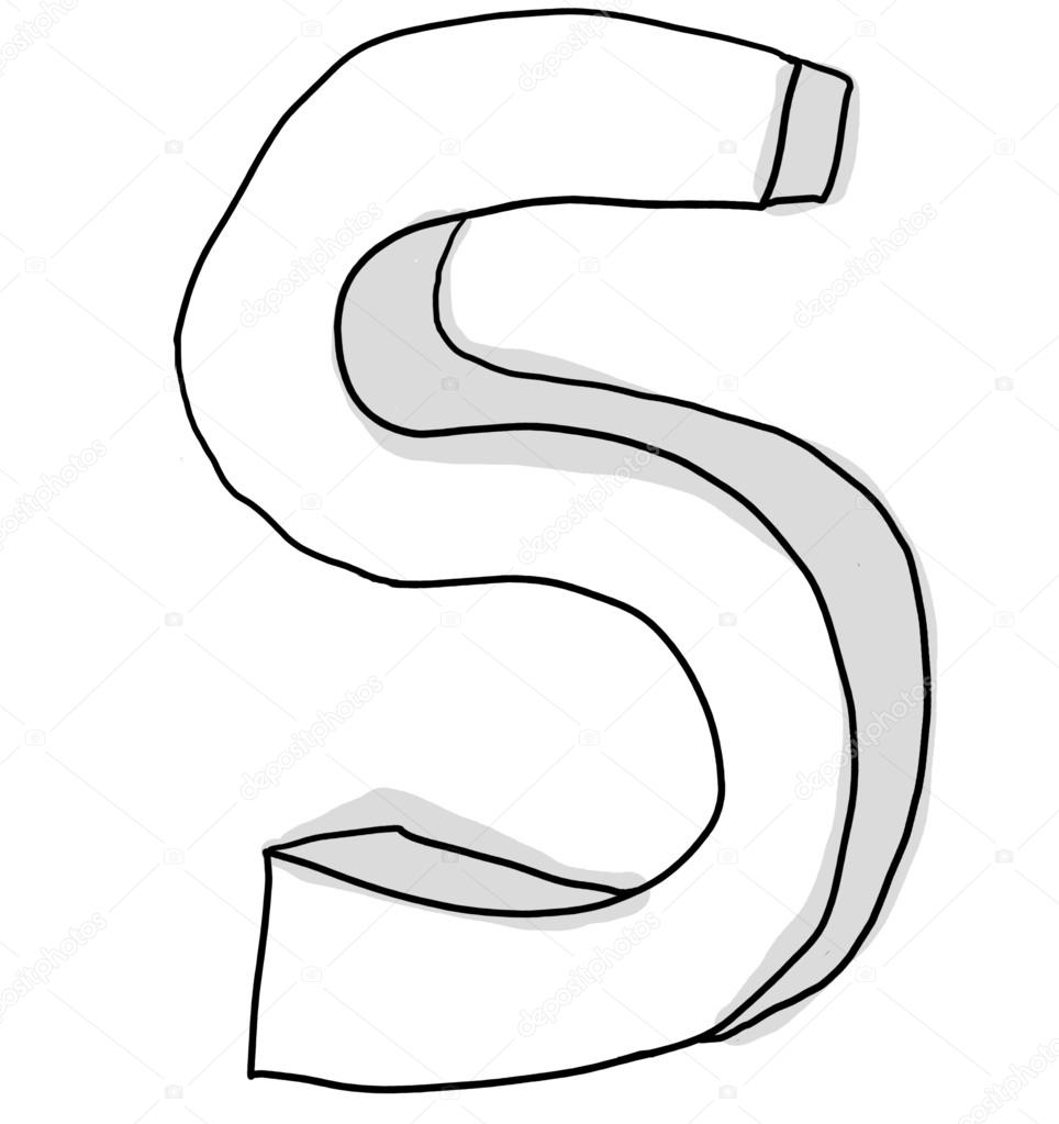 Alphabet Font S Cute Hand Drawn Stock Photo C Gmm2000 103618434