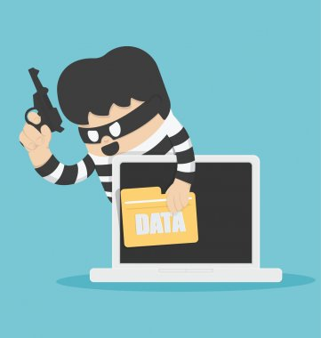 Thieves stole computer data
