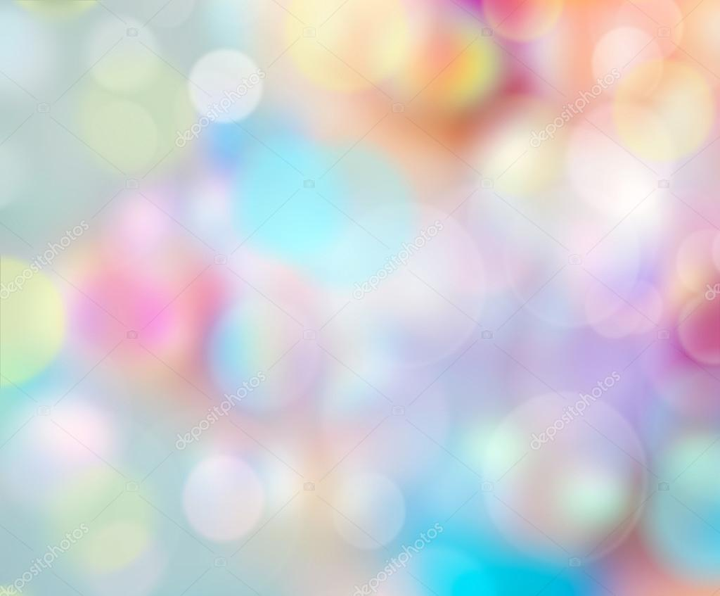 Bubbles Rainbow Color Background.Easter Wallpaper