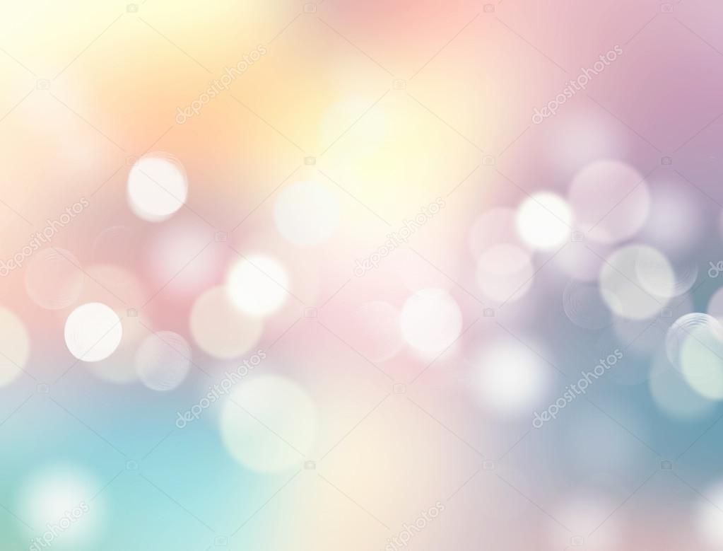 Ilustración De Fondo Abstracto Borrosa De Colores Suaves