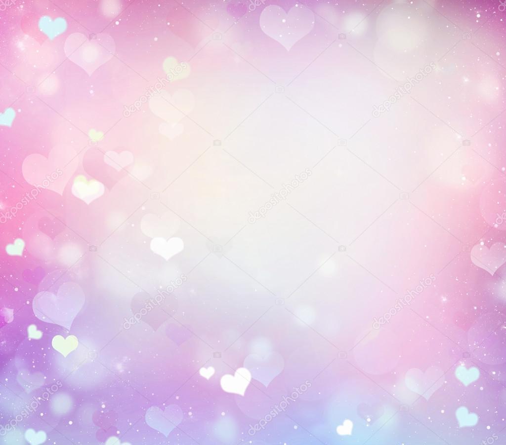 Fondo de marco de colores pastel boda rosa romántica — Fotos de ...