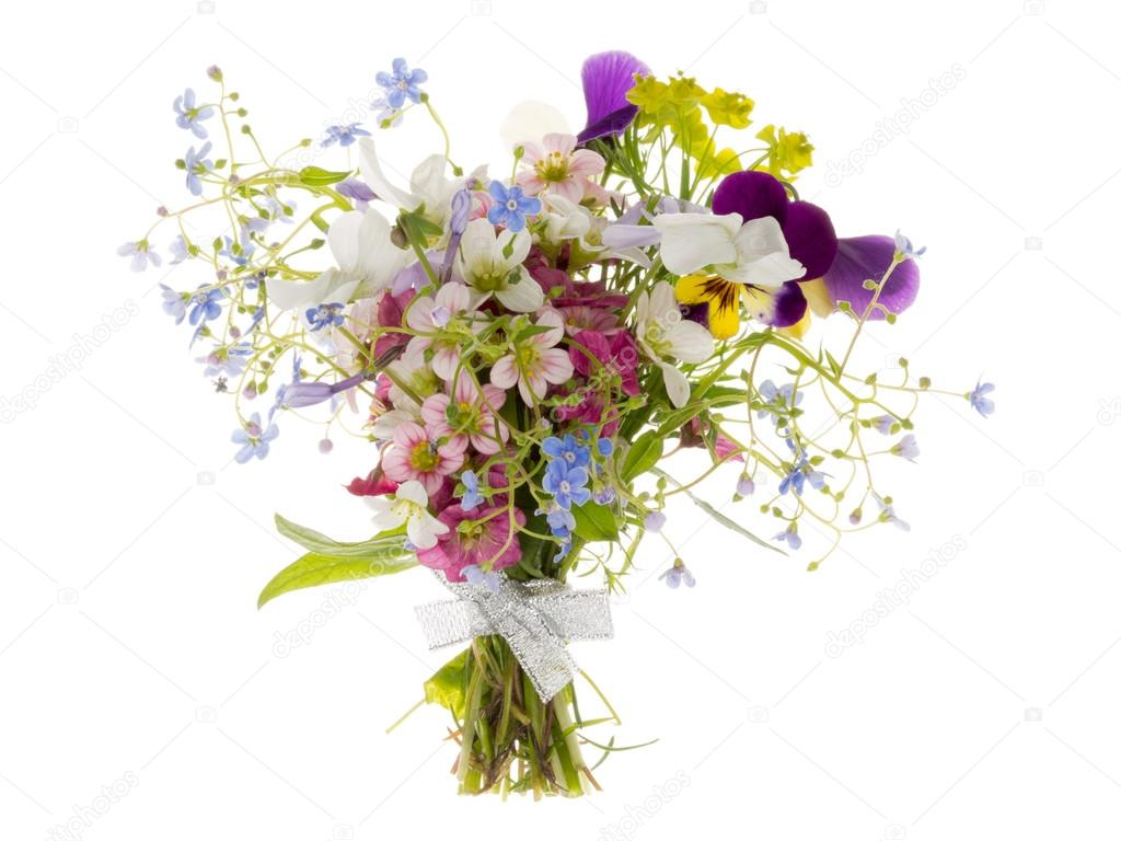 wild flowers in the bouquet