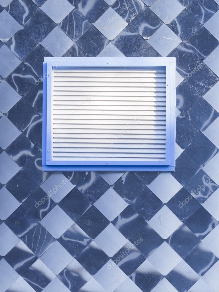 metal panel with window — Stock Photo © andreevaee #99001248