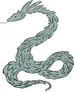 Quetzalcoatl - feathered serpent