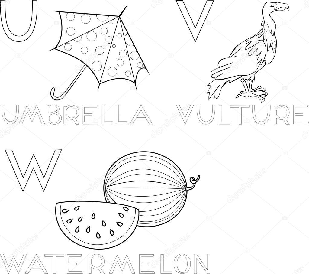 Jeux Coloriage Alphabet.Jeu De Coloriage Alphabet Image Vectorielle Mariaflaya C 87450404
