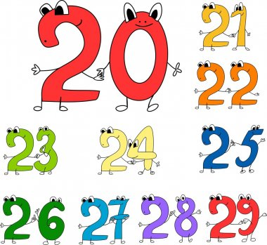 Multicolored Funny numbers