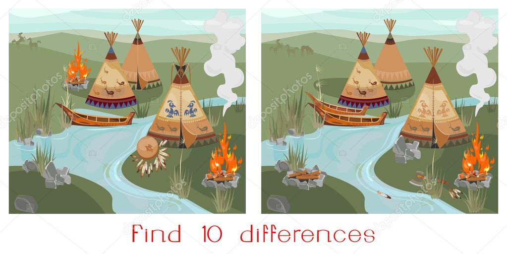Find ten differences