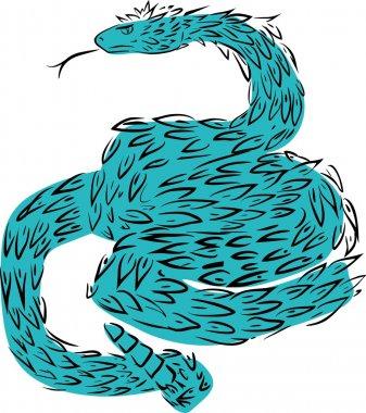 Sketch of Quetzalcoatl